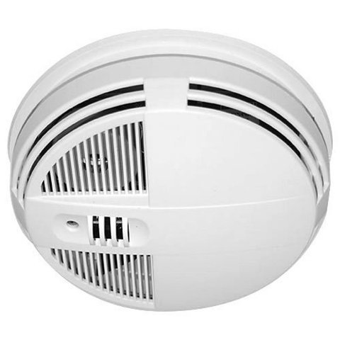 """Smoke Detector Hidden Camera w/ Night Vision & WiFi Live View True 720p 1280x720 Color HD Video Played Back On PC or Mac All the video being recorded is in crisp & clear HD quality color. This ensures you'll be able to make out all the details of activity in the room you're recording. In addition, the camera lens shoots at an incredible 125° Field of View. At 125° you'll be able to see most of your room, edge to edge without missing a thing. All the video is recorded in MP4 format using H.264 video compression with time/date stamped files for easy saving, emailing or playback on your PC or Mac computer. Multi-Camera Viewing w/ Alerts On Smart Phone, PC or Tablet No techies needed! Connecting to your live remote view camera has never been more easy. Using the free SG home app easily choose your camera, and your watching. Now you can quickly check in on your camera from anywhere in the world with live wifi viewing, and even save a snapshot picture directly on your mobile device. In addition, if you have multiple hidden cameras, you can easily see them all right from the app. As an added bonus, there are built-in alerts that will notify you when motion activated recording has occurred. Invisible Night Vision Captures Video In Darkness Up To 20' Away Automatically, the device will instantly enable the night vision mode and capture subjects up to 20 feet away as soon as its dark enough. There will be no obvious red lights to give away that you are recording in darkness that cheaper products use because of older, outdated technology. Note: when in night vision mode, the video being recorded is black and white. Record Weeks Of HD Video Onto A Removable SD Card  Included is a 32GB SD Card, that can record 32 continuous hours of video, automatically set to motion detection activation, so you'll never run out of video memory since most motion only lasts a few minutes. Additionally, you'll be able to """"hot-swap"""" SD cards by easily removing a filled up one, and replacing it with"""