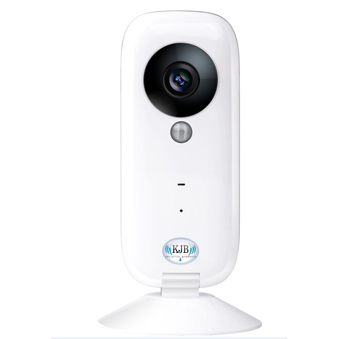 """Wi-Fi Home Video Monitoring System II Free live video with the Wi-Fi Home surveillance system using our free APP. Connect multiple cameras to your wireless network to watch your valuables even in different locations. It is also a good listener for voices of unwanted visitors or when your teens are home from school alone. Wherever you are you can see your camera from your phone or tablet. The cameras help to protect what matters when you can't! Capture video or watch live video anytime and view it from anywhere   No long tech support issues, set up is easy using our APPs built in video step by step set up   Conserves bandwidth, you can adjust the video streaming allowing smooth video transmission   Remote view using the KJB Wi-fi APP for IOS or Android   Magnet mount or screw mount   SD card recording up to 32GB   SD card viewing from the APP anytime anywhere   Low cost   HD 720P   Two way talk so you can hear what is said and you can talk to anyone near the camera   Night vision   Wide angle camera let's you see more of the action   Alarm notification so you can be alerted to any activity   Use on multiply devices   Have cameras in different locations and watch on one APP   1 year warranty   And as always we keep products in stock so you don't have to and don't forget about our in house tech support. Perfect for: Elder care, as a Baby monitor, keep track of your teens actions at home when you're not there, watch your pets, keep an eye on your vacation home, your office or stores all for Free Specs   Camera 1 MP FOV 100 degree 1280x720 30fps 2 X Zoom Two way talk audio Wifi support 802.11b/n/g Support WIFI, 2G/3G/4G Up to 32GB micro memory card Dimensions: 2"""" L x 1"""" W x 5"""" H  Included with this item  USB Cable USA wall plug Manual"""