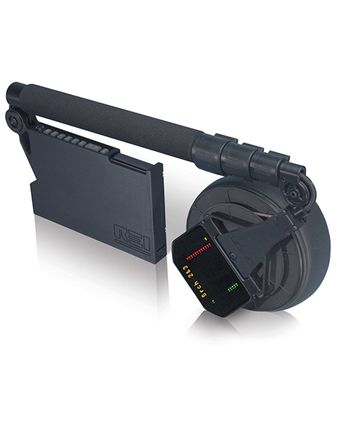 ORION™ HGO-4000 Non-Linear Junction Detector The ORION HGO-4000 is REI's original high gain Non-Linear Junction Detector for special applications. The ORION HGO-4000 can locate listening devices and semiconductors in walls floors, ceilings, fixtures, furniture or containers and provides a user the capability to detect hidden electronic devices, regardless of whether the device is radiating, hard wired, or even turned off. Efficiency:high transmit power for rapidly searching large areas and the circularly polarized antenna reduces search time and improves reliability Usability:second and third harmonic operation includes advanced algorithms for minimizing false alarms as well as listening capability for each harmonic Portability:balanced, ergonomic, lightweight design with no cables or bulky transceiver units to carry Features Second and third harmonic operation includes advanced algorithms for minimizing false alarms as well as listening capability for each harmonic Dynamic power control for locating threats; automatic or manual control Synthesized transceiver provides frequency stability and agility to automatically search for clean operating frequencies Circular, polarized antenna removes risk of missing a threat due to incorrect antenna polarization High transmit power for rapidly searching a large area Standard camcorder battery with long run time and quick charge functions Wireless headphones and graphic display for simultaneous audio & visual information Specifications TRANSMITTER Frequency bands: 840-915 MHz in 200 kHz stepsTransmit power: 30 milliwatts minimum to approximately 3 watts effective radiated power (ERP)Power control: manual or auto control with 30 dB range RECEIVER Frequency bands: second (1680-1830 MHz) or third (2520-2745 MHz) harmonic of transmit frequencySensitivity: -133 dBm for both harmonicsDSP S/W integration: programmable between 6 and 18 dB gain in sensitivity performanceReceiver bandwidth: 3 kHz MECHANICAL Extension lengths: 16–51 in (
