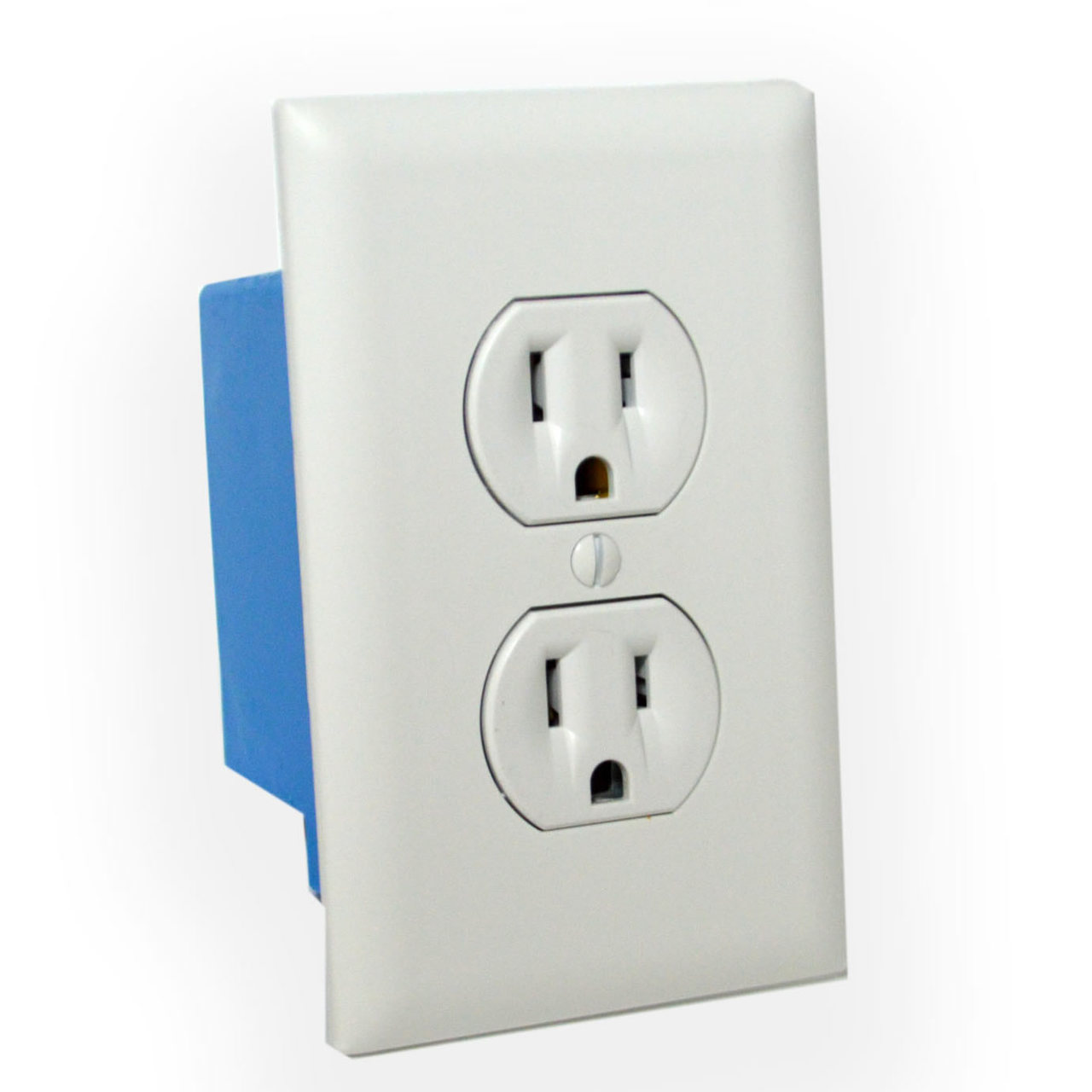 Wall Outlet Hidden Camera w/ DVR & WiFi Remote View (Hardwired) IMPORTANT: This device is meant to be installed into a hole that you will need to cut into your wall and installed professionally by an electrician. While the device gets hardwired into your electrical lines, the Wall Outlet is NON FUNCTIONING for plugs from devices to get electricity from. Record & Stream Stunning 1080p HD Video This decoy outlet is a perfect recording device. Every home or business has one everywhere and they always go unnoticed. It's a perfect addition to any connected home and provides added security with a built in hidden camera so you can keep track of your kids a nanny or simply want to keep an eye on your expensive electronics. Nothing will indicate this device is anything other than your average coffee maker. Even if the camera is handled by someone curious, the electronics are sealed inside. Within minutes you can have the device set up to view live video footage from thefree downloadable appfrom your smartphone, or tablet. This camera can be viewed and/or record videos in1080P, 720P, or 480P videoover awide viewing angle of 90°.No need to worry about the battery lifeon this camera as it is powered via normal AC power. Great for use as a nanny cam or cheater catching device, it is highly unlikely someone would suspect a camera within this commonplace object. All the video being recorded is in crisp & clear HD quality color. This ensures you'll be able to make out all the details of activity in the room you're recording Record Weeks Of HD Video Onto A Removable SD Card  Using an optional 128GB SD card, you'll get about 60+ hours of continuous video, or with motion activation mode only, you'll never run out of video memory. The choice is yours. With adjustable frame rate controls, it's easy to capture weeks to months of hidden videos. Since normal motion that your TV plays back at is at 30 FPS, recording at a lower FPS (frames per second) will enable you to store much more foota