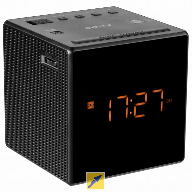 Sony Cube Clock Radio Hidden Camera w/ WiFi Remote View