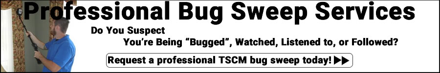 Bug Sweep Services